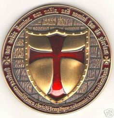Knights Templar motto: Non nobis Domine, non nobis, sed nomini tuo da gloriam (Not to us Lord, not to us, but to Your Name give the glory). Templar Knights promotes spirituality and encourage noble ideals of chivalry.