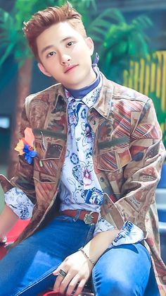 D.O EXO He's so freakin' cute this comeback, I can barely stand it.