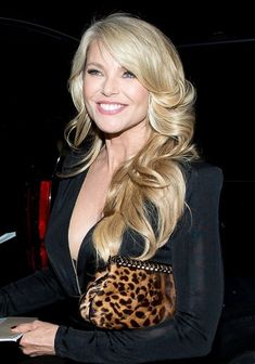 Christie Brinkley arrives at LAX Airport on January 14, 2014.