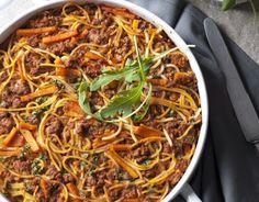 Spaghetti, Frittata, Japchae, Risotto, Ethnic Recipes, Food, Dinner Ideas, Essen, Supper Ideas
