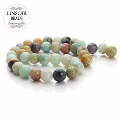 Cheap beads for making jewelry, Buy Quality amazonite beads directly from China beads 4mm Suppliers: LINSOIR Natural Stone Green Blue Amazonite Beads 4mm 6mm 8mm 10mm 12 mm Round Loose Spacer Beads For Making Jewelry 40cm/strand Enjoy ✓Free Shipping Worldwide! ✓Limited Time Sale✓Easy Return. Cheap Beads, Beaded Bracelets, Diy Bracelet, Jewelry Making Beads, Stone Beads, Natural Stones, Blue Green, Jewelry Accessories, China