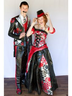 """Cast your vote for the Duckbrand """"Stuck at Prom"""" Scholarship Contest.- 2013 Gallery- Caden and Ashton"""