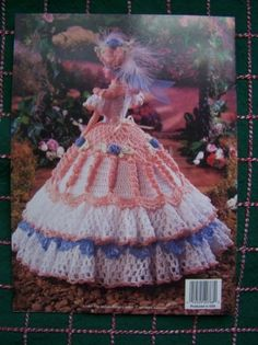 Image detail for -Crochet Barbie Doll Dress Pattern Madeline Southern Belle Gown ...