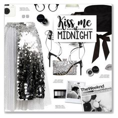 """""""#1157 Happy New Year, ABBA"""" by blendasantos ❤ liked on Polyvore featuring Anouki, River Island, Alexandre Vauthier, Polaroid, xO Design, Bobbi Brown Cosmetics, Crate and Barrel and Cricut"""