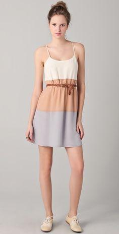 MadeWell Colorblock Cami Dress