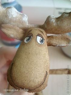 Easy Christmas Ornaments, Christmas Moose, Christmas Deco, Christmas Projects, Simple Christmas, Moose Crafts, Primitive Crafts, Craft Patterns, Doll Patterns