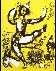 Marc Chagall The Circus, 1960