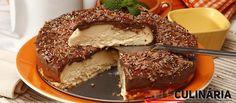 Receita de Bolo de ricotta com cobertura de chocolate. Descubra como cozinhar Bolo de ricotta com cobertura de chocolate de maneira prática e deliciosa com a Teleculinária!