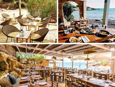 Beach Club, Cala, Beautiful Islands, Dream Vacations, Travel Destinations, Pergola, Spain, Around The Worlds, Outdoor Structures
