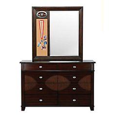 Raiders Dresser & Mirror