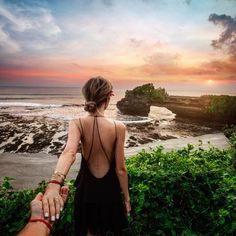Follow me to Tanah Lot Temple in Bali