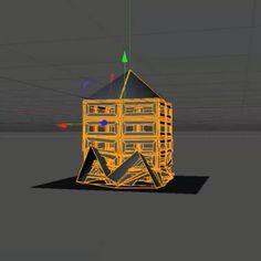Paper Model Building In Cinema 4D - Motion And Design