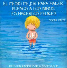 #Niños felices #frases