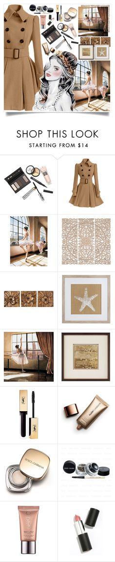 """""""Hot Mocha"""" by angelstylee ❤ liked on Polyvore featuring Borghese, Home Decorators Collection, Upton Home, Frontgate, Yves Saint Laurent, Nude by Nature, Dolce&Gabbana, Urban Decay and Sigma Beauty"""