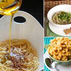 Vegan Pasta Recipes- you could substitute the white pasta with wheat for a more healthier decision