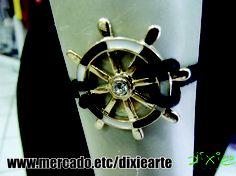 Pulseira Leme Preta e Branca  www.elo7.com.br/dixiearte