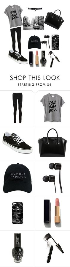 """""""Casual Style"""" by camelia-matt ❤ liked on Polyvore featuring Yves Saint Laurent, Sincerely, Jules, Vans, Givenchy, Nasaseasons, Mr. Gugu & Miss Go, Chanel, Lancôme and Fallon"""
