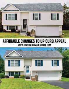 Simple changes to up curb appeal