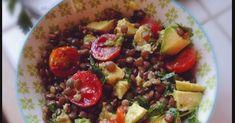 Las lentejas son unas legumbres muy versátiles: las podemos tomar calentitas (ver lentejas con verduras ), hacer hamburguesas ,o coce...