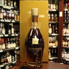 Glenmorangie This is the first release from Glenmorangie's Bond House Collection. This whisky is was distilled in 1990 and bottled in Single Malt Whisky, Scotch Whisky, Whiskey Bottle, Drinks, Drinking, Beverages, Scotch Whiskey, Drink, Beverage