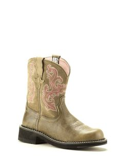 8d32b91fc10 Ladies Ariat Fatbaby Brown Bomber Boots 1004730 - Texas Boot Company is  located in Bastrop