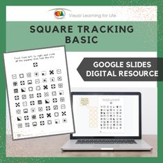 This digitally interactive resource is designed for use with Google Slides. This resource contains 10 slides in total. Answer sheets are included.The student must find all the squares that look the same as the example at the top of the page, and drag the orange circles to mark the correct answers.