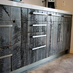Semihandmade is a company that does custom doors for ikea cabinets for a faux custom look at a fraction of the cost. Hinges for cabinets by Ikea are high end and of great quality. http://www.semihandmadedoors.com/ Recommended by http://www.organizersf.com/
