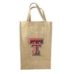 Texas Tech 2 Bottle Tote