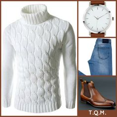 WEEKEND(JEAN STYLE): The Lees Shop(Sweater)-Gino Vicci(Watch)-Kiton(Jeans)-Carlos Santos(Boots)