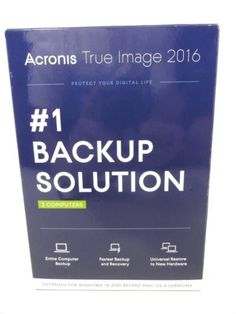 Acronis True Image 2016 (3 Computers) #1 Backup Solution - New! - http://electronics.goshoppins.com/software/acronis-true-image-2016-3-computers-1-backup-solution-new/