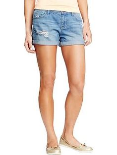 Women's Denim Boyfriend Shorts from Old Navy - have 3 pairs and wore them almost every day during the summer.