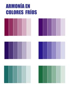Armonia de colores (1) Powerpoint Design Templates, Hue Color, Color Schemes, Color Combos, Color Harmony, Watercolour Tutorials, Color Names, Color Pallets, Color Theory