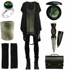 Fashion concept. Would you like to be a modern witch?