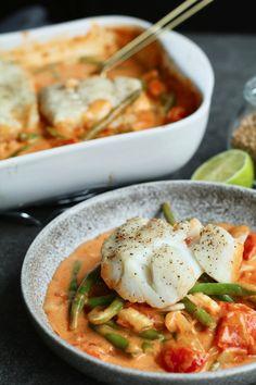 Thaise visschotel uit de oven, Gezond avondeten, Gezonde recepten, Gezonde ovenschotels, Beaufood recepten, Ovenschotels vis, Gezond en lekker avondeten