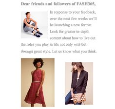 Look for more from Fash365!