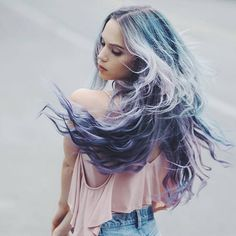 """Mi piace"": 2,719, commenti: 4 - Beserk (@beserk) su Instagram: ""Lime Crime Unicorn Hair Colour restock alert! @kirstenzellers rocks her urban mermaid locks!…"""