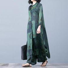 Casual Print Loose Shirt and Pants Suit with Wide Leg , Casual baskı gevşek gömlek ve geniş bacak pantolon Suit , Elbise Source by Pakistani Dresses, Indian Dresses, Indian Outfits, Linen Dresses, Cotton Dresses, Casual Dresses, Loose Dresses, Hijab Fashion, Fashion Dresses