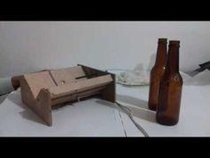 PASSO A PASSO COMO FAZER CORTADOR DE GARRAFAS DE VIDRO. - YouTube
