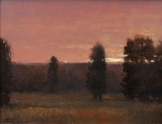 Valley at Dusk - Oil Painting by Peter Campbell Western Art, Dusk, Westerns, Trail, Paintings, Sculpture, Gallery, Artist, Paint
