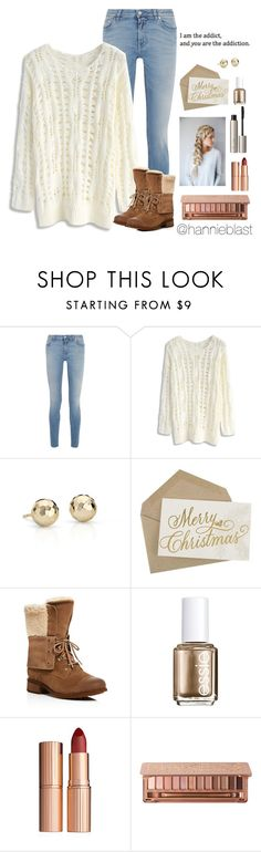 """""""1 Y E A R on this A C C O U N T!"""" by hannieblast ❤ liked on Polyvore featuring Givenchy, Chicwish, Blue Nile, UGG, Essie, Charlotte Tilbury, Urban Decay and Ilia"""