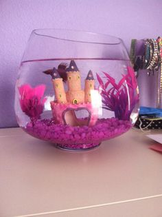 1000 images about betta fish bowls tanks ideas on for Pink fish tank