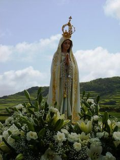 My boys love this representation - Our Lady of Fatima