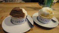 PARIS Le Marais I Glacier Pozzetto, pistache/noisette/yaourt sont délicieux  rue du roi de sicile (4e).