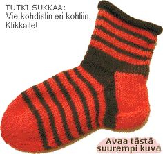 Very simple pattern for knitted socks