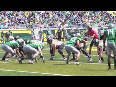 Oregon Ducks Spring Game 2012 - Marcus Mariota vs. Bryan Bennett
