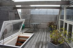 Trap Door Design Ideas Pictures Remodel and Decor - page 2 · Roofdeck IdeasApartment PatiosRooftop ... & VELUX access flat roof windows - easy access to the roof   Backyard ...