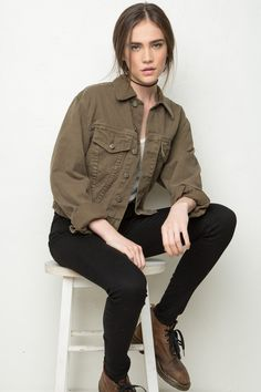 Brandy ♥ Melville | Jackson Denim Jacket - Clothing