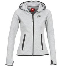 Sudaderas y Polares Nike TECH FLEECE FULL ZIP Gris 350x350 Cute Swag Outfits, Nike Outfits, Sport Outfits, Casual Outfits, Nike Tech Fleece, Hoodie Outfit, Cool Hoodies, Yoga Tops, Under Armour Women
