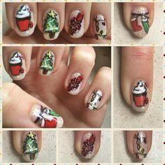 Dernier nail art de noël pour cette année