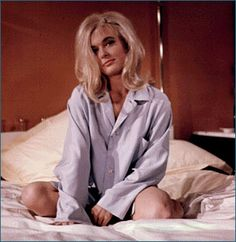 Jill Masterson in Goldfinger, 1964 (Shirley Eaton)